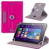 UC-Express Tablet Tasche f Blaupunkt Endeavour 101M Hülle Schutz Hülle Cover Schutzhülle Bag, Farben:Pink