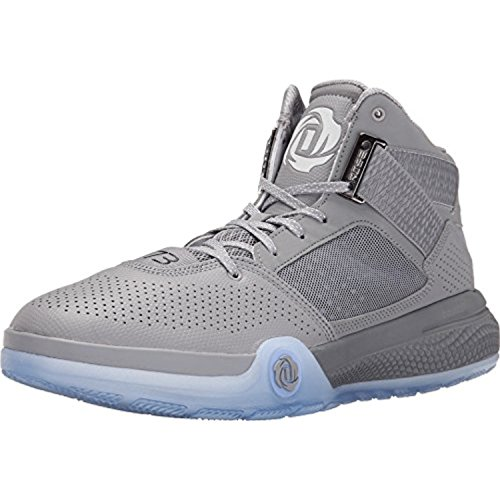 adidas D Rose 773 IV Men's Basketball Shoe (A055, SIL/BLK/WHT)