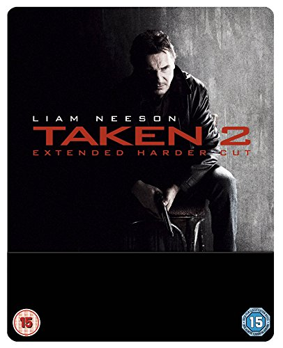 Taken 2 - Extended Cut - Limited Edition Steelbook (Blu-ray + UV Copy) [UK Import ohne dt. Ton]