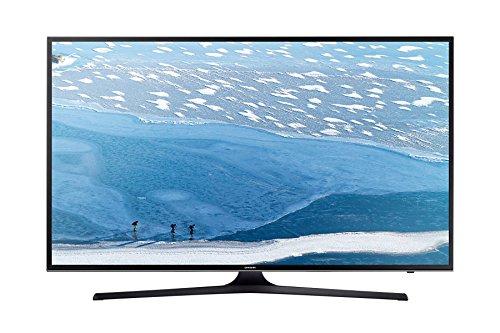 Samsung UE55KU6072U Smart TV 4K Ultra HD, Wi-Fi, Nero(4K Ultra HD, A, 16:9, 3840x 2160, Mega Contrasto, Nero)