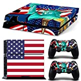 SKINOWN Galaxy Cosmic Nebula Sticker Vinly Decal Cover for Sony PS4...