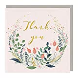 Whistlefish Greeting Card - Thank You Flowers
