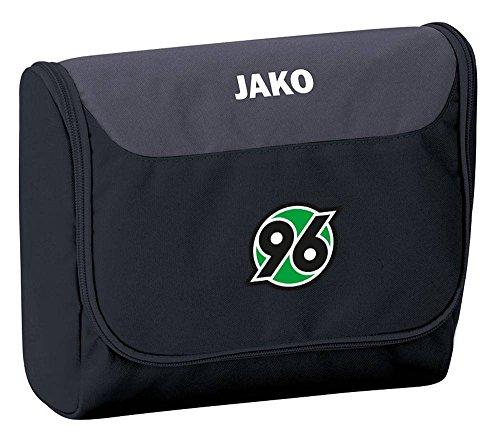 Jako Hannover 96 Striker Kulturbeutel schwarz-anthrazit schwarz/grau, standard