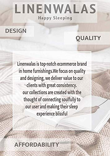 LINENWALAS Luxury Tencel Lyocell Sheets 4 Piece Bed Sheet Set Deep Pocket 100% Tencel Natural Organic Silky Soft Bedsheets and Pillow Cases Woven Sateen Full Size - Vanilla