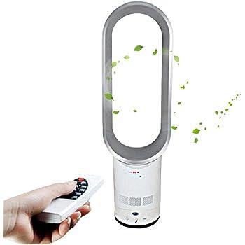 LeKing Ventilador Sin Aspas, Ventilador Silencioso De Control Remoto, Ventilador Portátil Sin Ahorro De Energía Sin ...