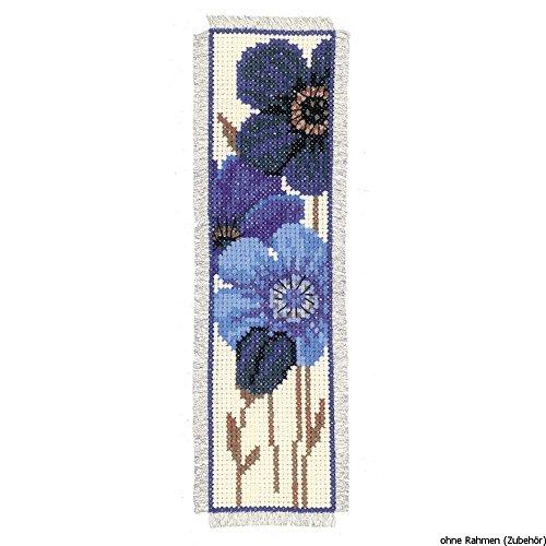 3er Set Z/ählmusterpackung Vervaco Kr/äutert/ütchen Blumen /& Schmetterlinge Baumwolle Mehrfarbig 3-Einheiten 8 x 12 x 0.3 cm