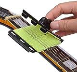 Fansjoy Limpiador De Cuerdas Para Guitarra, Guitarra eléctrica de Cuerdas y Diapasón Limpiador, Herramienta de mantenimiento para Guitarras Eléctricas y Acústicas, Bajo, Mandolina, Ukelele