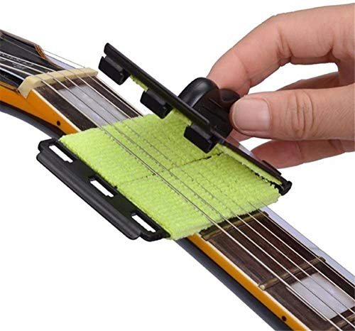 Fansjoy Limpiador De Cuerdas Para Guitarra, Guitarra eléctrica de Cuerdas y Diapasón...
