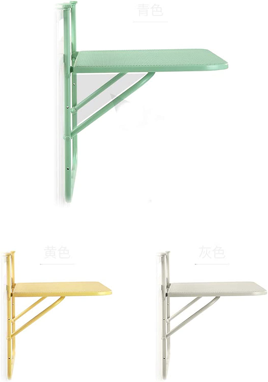 Balcony Folding Table Wall-mounted Leisure Table And Chair Folding Small Table Simple Creative Hanging Table Hanging Rack Multifunctional Small Desk Dining Table Computer Desk (table Size  81976cm)