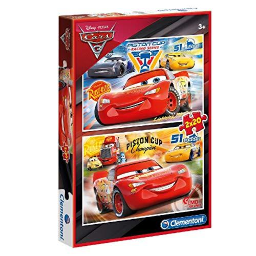 Puzzle Auta 3 2x20