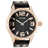 Oozoo XL Armbanduhr Schwarz