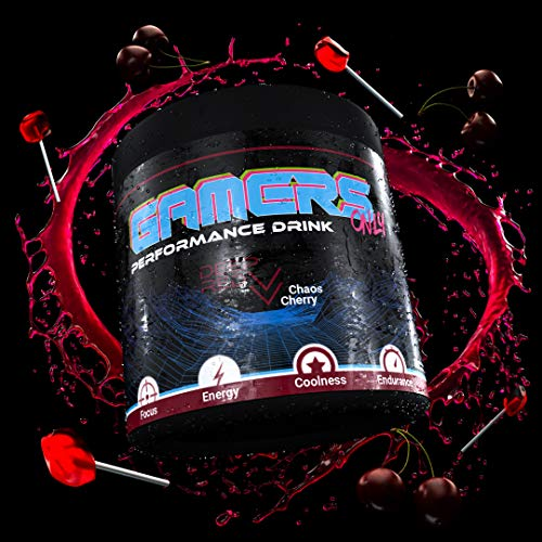 GAMERS ONLY DEEP RED Chaos Cherry, 400 g (80 Portionen)