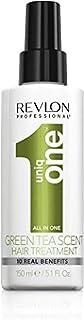 Uniqone All in One Tè verde Spray senza Risciacquo Trattamento Capelli - 150 ml