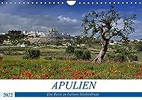 Apulien - Eine Reise zu Italiens Stiefelabsatz (Wandkalender 2022 DIN A4 quer): Italien wie im Bilderbuch (Monatskalender, 14 Seiten )