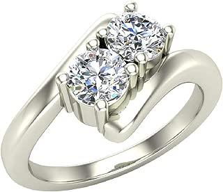 2 stone diamond ring designs