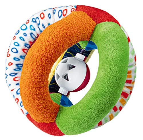 Ravensburger ministeps 4159 Mein klingender Greifball, weicher Greifling aus Stoff mit Glöckchen, Baby Spielzeug ab 3 Monate