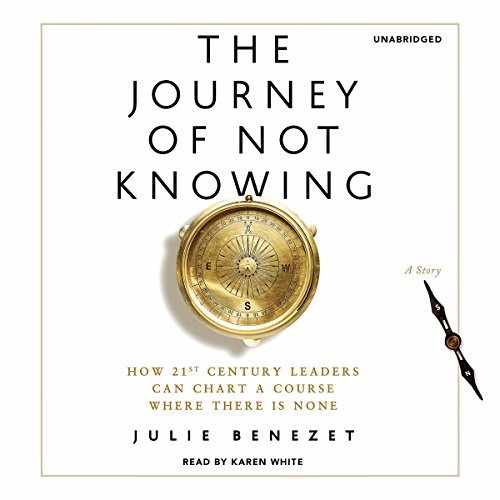 The Journey of Not Knowing audiobook cover art