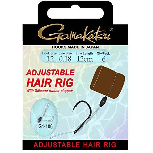 Gamakatsu BKS G1-106 Adjust Hair Rig Gr.14