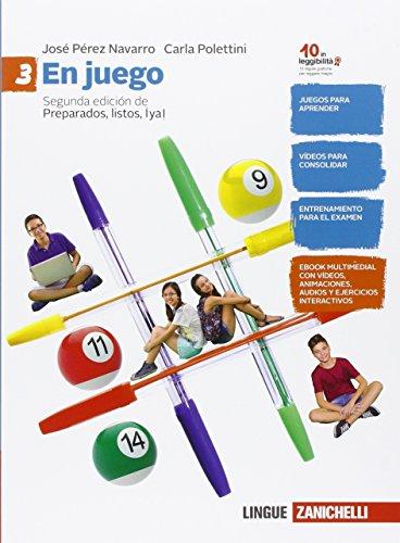 En juego. Per la Scuola media. Con e-book. Con espansione online [Lingua spagnola]: 3