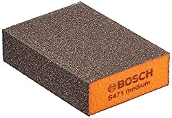 Bosch Professional Schleifschwamm für Farbe Füller Lack Holz Metall und Kunststoff