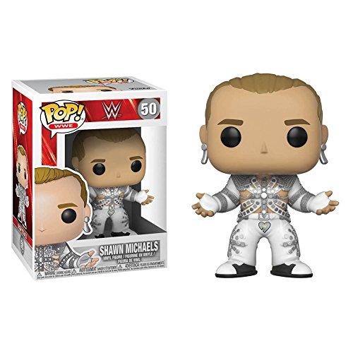Funko- Pop Vinile WWE Shawn Michaels (Wrestlemania 12) Action Figure, 29032