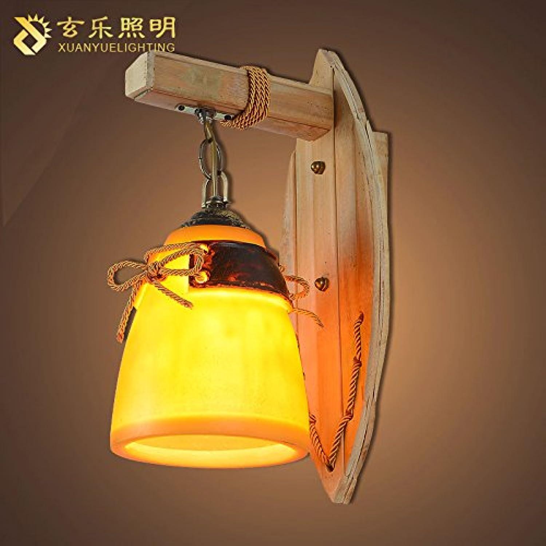 StiefelU LED Wandleuchte nach oben und unten Wandleuchten Galerie Wandleuchten Beleuchtung Bambus Wandleuchten rustikalen Restaurant Wohnzimmer Schlafzimmer Verkehrskorridor, 120  400 mm