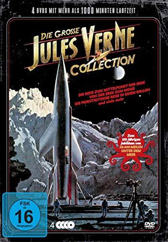 Die grosse Jules Verne Collection 20.000 Meilen unter dem Meer - 12 Filme auf 4 DVDs - Steelbox