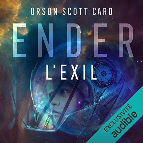 Page de couverture de Ender, l'Exil.