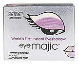 Eye Majic - Sombra de ojos instantánea - Maquillaje profesional en 10 segundos - Pack de 5 - Purple Haze - 009