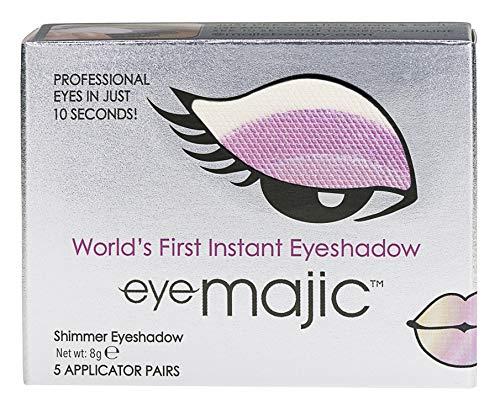Eye Majic - Instant-Lidschatten - leichtes, professionelles Make-up in 10 Sekunden - 5 Paar - Purple Haze - 009