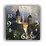 Harry Potter - Hogwarts 11.8 Handmade Wall Clock - Get Unique dcor for Home or Office Best Gift Ideas for Kids, Friends, Parents and Your Soul Mates