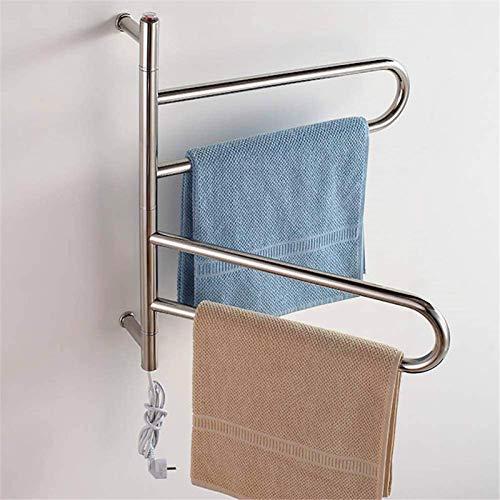 Inicio Equipos Rieles para toallas calefactables Calentador de toallas Enchufe eléctrico de...