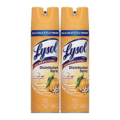 Lysol Disinfectant Spray, Pack of 2