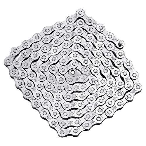 SANTOO Fahrrad Kette 6/7/8-fach 116 Glieder Fahrradkette für Rennrad Mountainbike