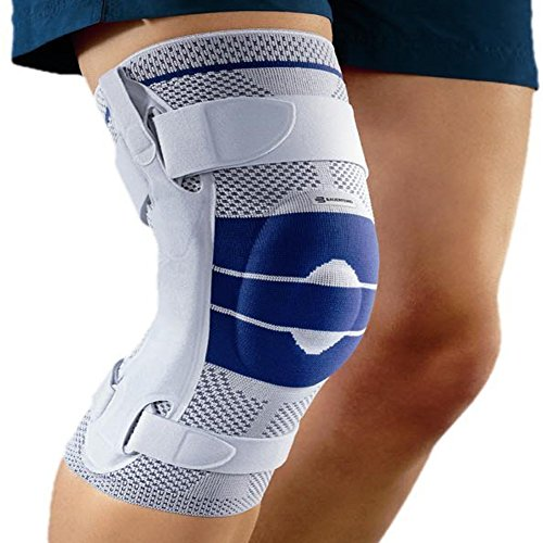 Bauerfeind Vendaje de rodilla, GenuTrain S Pro,Beige,izquierdo, talla 5