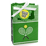 You Got Served - Tennis - Baby Shower or Tennis Ball Birthday Party Favor Boxes - Set of 12