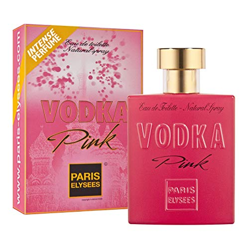 VODKA Pink Perfume para mujer Paris Elysees 100 ml vaporizad