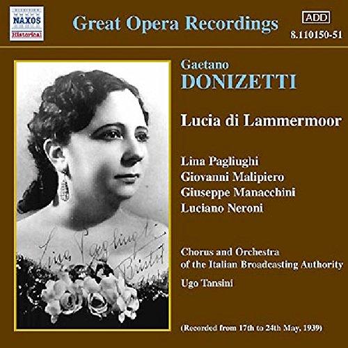 Lucia di Lammermoor: Act III: Dalle stanze ove Lucia