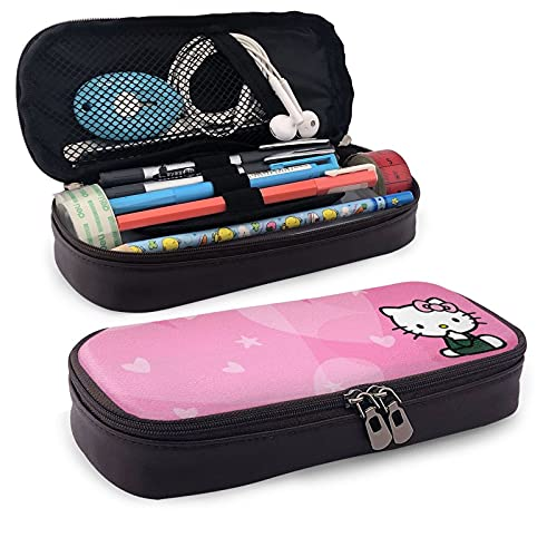 Hello Kitty - Estuche de lápices con forma de corazón, color rosa