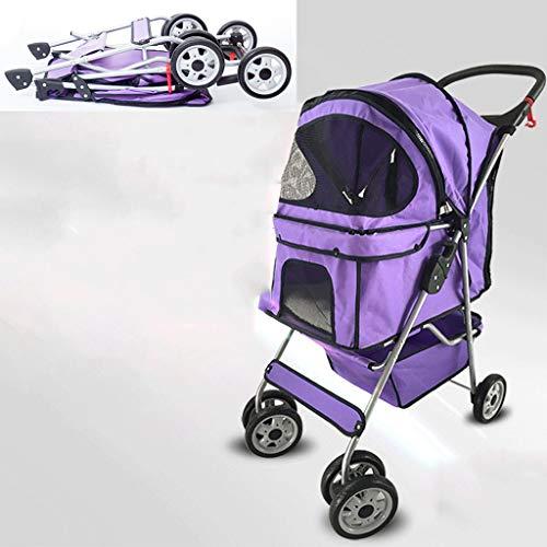 OMLTER Multi-Function Pet Stroller, Lightly Foldable Pet Stroller