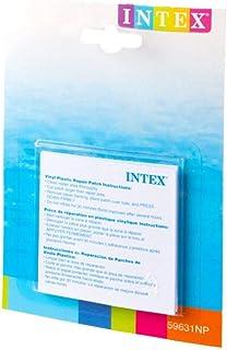 INTEX Adhesivo De Vinilo Plástico Hinchable Parche De Reparación - Pack de 6