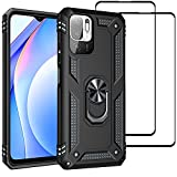 Case for Xiaomi Redmi Note 10 5G and [2 Screen Protector]