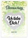 5 Rubbelkarten Überraschung von VULAVA + Gratis Online-Handbuch mit 100 Überraschungsideen – die DIN A6 Karten sind das Geschenk für Schwangerschaft Patentante DIY Rubbellose Geburtstag Taufe Hochzeit