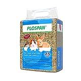 Nobleza Paja Seca para Conejos, hámsters, cobayas y roedores, Utilizada por los roedores para rechinar los Dientes 2,5kg(75L