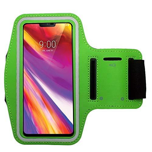 Cbus Wireless Brazalete Deportivo Correr y Entrenar, para Xiaomi Mi 10/10 Pro/10T/10T Lite/10T Pro/Poco X3 NFC/Redmi 9/9C, Redmi Note 9/9S/9Pro (Verde)