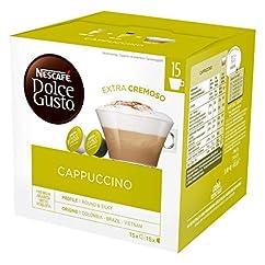 NESCAFÉ Dolce Gusto Cappuccino XXL-Vorratsbox 30 Kapseln