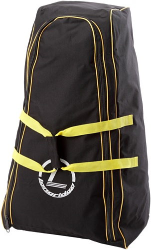Longridge Uni Golf Trolley Cover Deluxe, Schwarz