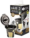 2 Pack Solofill K3 Gold Refillable Coffee Filters Cups