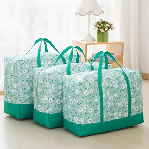 Xuan - Worth Another Motif Floral Vert Les courtepointes contiennent Le Sac de Finition Un Sac de couettes Vêtements Boîte de Finition étanche à l'humidité Dazhong et Autres Petits