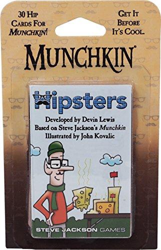 Steve Jackson Games SJG04250 - Kartenspiele, Munchkin Hipsters